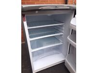 Hotpoint A+ Fridge - Graphite, 1,5 years old,in perfect working order and very clean! FREE Delivery!