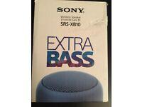 Brand New Sony SRS-XB10 Wireless Speaker Black