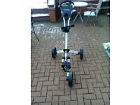 Dunlopthree wheeler golf trolley