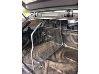 BMW roof bars, boot liner and dog guard