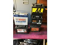 Variety of car batteries for sale