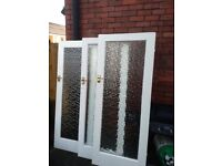 3 x glazed doors Free, and the