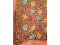Beautiful Pure georgette saree (full embrodiery)