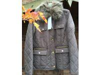 Ladies M&S Per Una Quilted Jacket