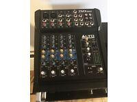 6 channel mixer - Alto ZMX862