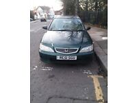 Well looked after Honda Accord 2001 Manual 4 door saloon car for sale
