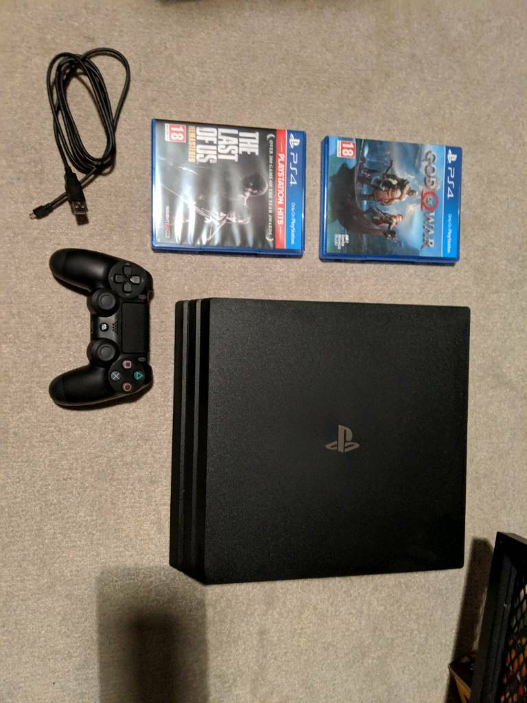 PS4 Pro, 2 Games, Controller  Boxed  | in Carlton, Nottinghamshire | Gumtree