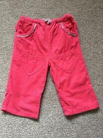 Girls Baby Boden Trousers