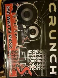 Crunch door speakers component set new
