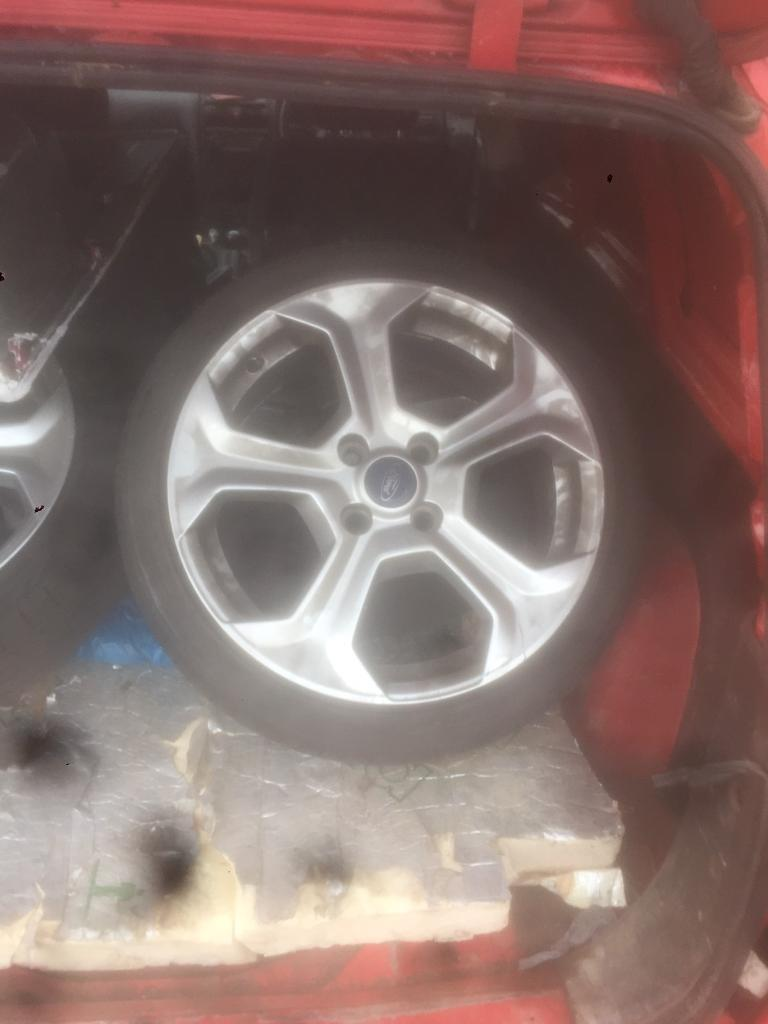 Ford Fiesta st wheels