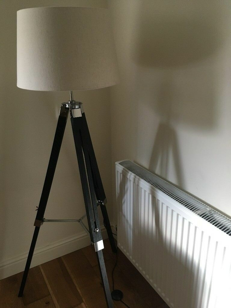 Castleton Home Tripod Floor Lamp 142cm Chiswick London W4 Fr2018
