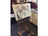 Rowney artists easel
