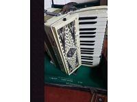 Geraldo vintage accordion for sale.