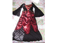 GIRLS DRESS 9-10 yrs, PARTY OR HALLOWEEN