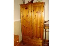Ducal Victoriana solid Pine wardrobe