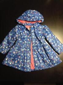 Girls rain coat age 1 to 1half