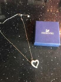 Swarovski necklace & ring bought in New York this January
