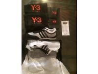 Y3 Trainers white/black. Brand New in Box. Size 9.5