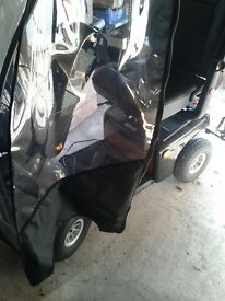 Pro Rider Road King Mobility Scooter W/ Canopy
