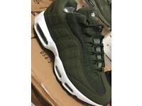 Nike air max 95 khaki/white sole 6,7,8,9,10,11