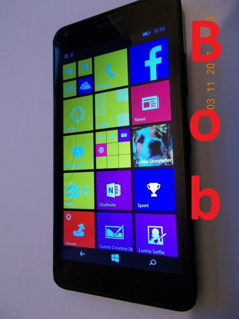Nokia Lumia 640LTE mobile phone UNLOCKED or on Vodafone, EE or 3   in  Newcastle, Tyne and Wear   Gumtree