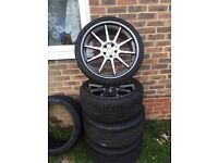 20 inch Mercedes alloys with tyres