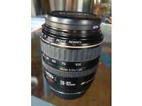 Canon 28-105mm macro lens in perfect condition