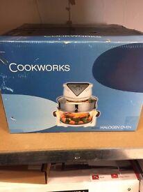 Cookworks halogen oven new