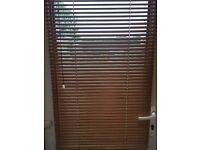 Wooden window Venetian blinds - perfect for doors or windows!