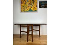 Mid-Century Modern Gate Leg Formica Dining Table FREE LOCAL DELIVERY