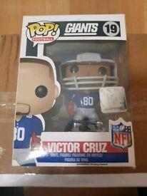 Victor Cruz Giants Pop Vinyl