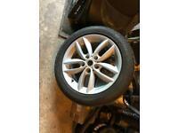 "17"" alloy wheel"