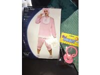 Unisex adult Big baby costume