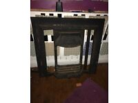 Cast Iron Fireplace - Insert your own tiles to match room! for sale  County Down