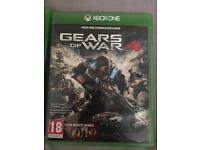 Gears of war 4 3,2 and 1 and tomb raider for xbox one