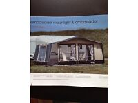 Caravan awning Isabella moonlight with annex.