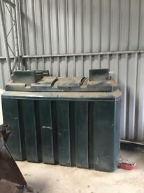 Brand new Double skinned fuel tank with gravity feed pump
