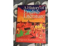 Used, A History of English Literature for sale  London