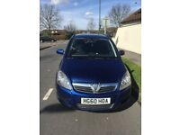 Vaxhall zafira 7 seater family car good condition for sale