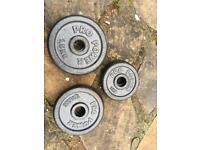 """1"""" weights"""