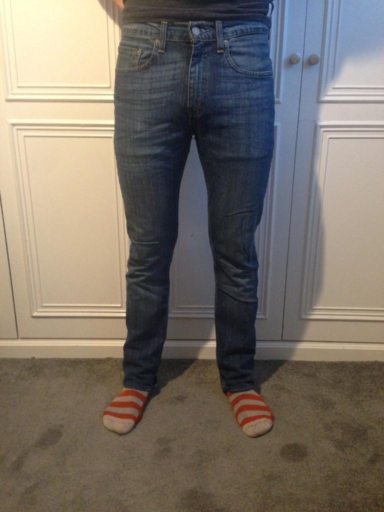 Assorted Men's Trousers, Levi Jeans, Topman Chinos, Canterbury