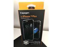 *Spigen iPhone 7 Plus Hybrid Armor Jet Black Case Brand New*