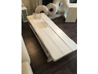 Shabby chic sleeper tables