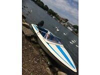 Speedboat 15' Fletcher Arrow Sport 150 with 90HP Mercury Engine