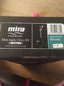 Mira agile eco ev shower brand new