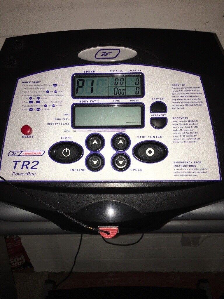 Reebok Tr2 Power Run Treadmill For Sale 150 Gym Quality