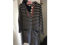 Boden towelling Beach jumper Brand New no tags