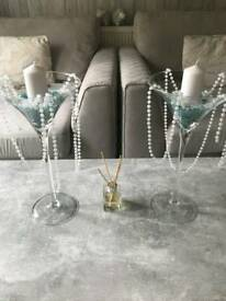 Large Martini Glass Ornaments
