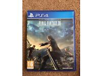 Final fantasy 15 PS4 game as new