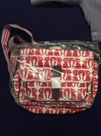 Nicky James satchel bag bnwt